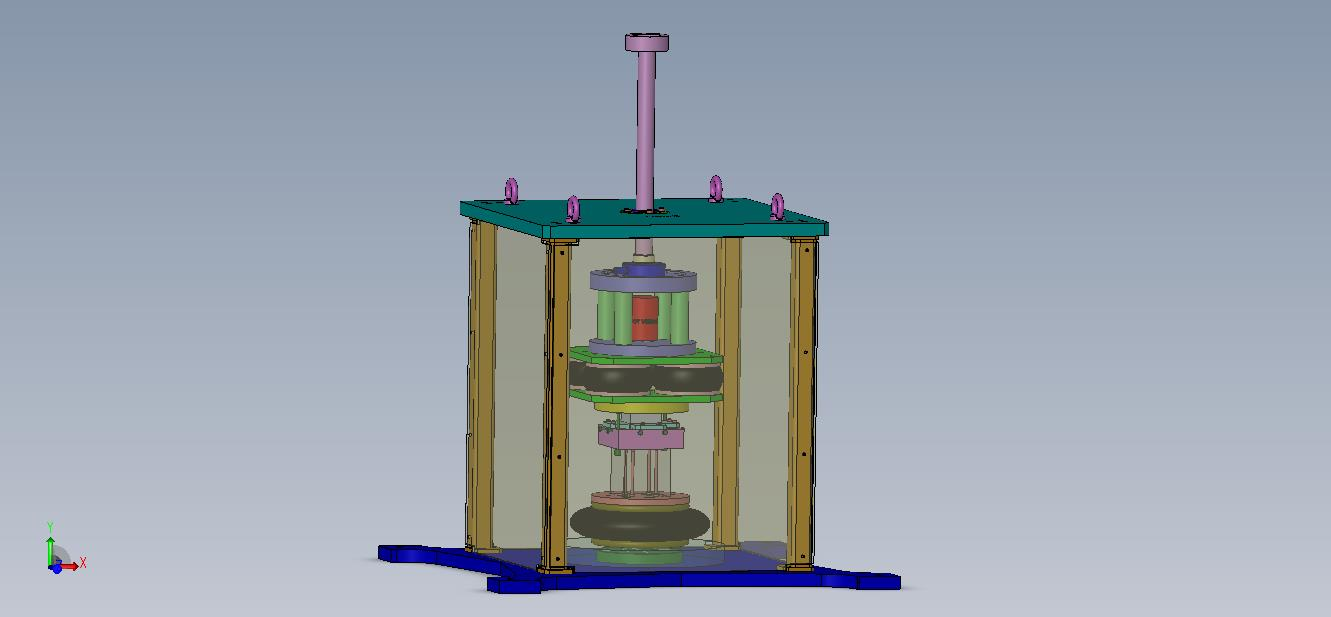 Dynamic test bench for rubber part