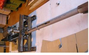 Pneumatic launcher 10 kg -‐ 30 m/s