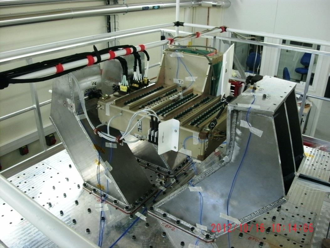 Vibration test fixture for CBP program