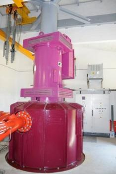 Support turbine structure optimization